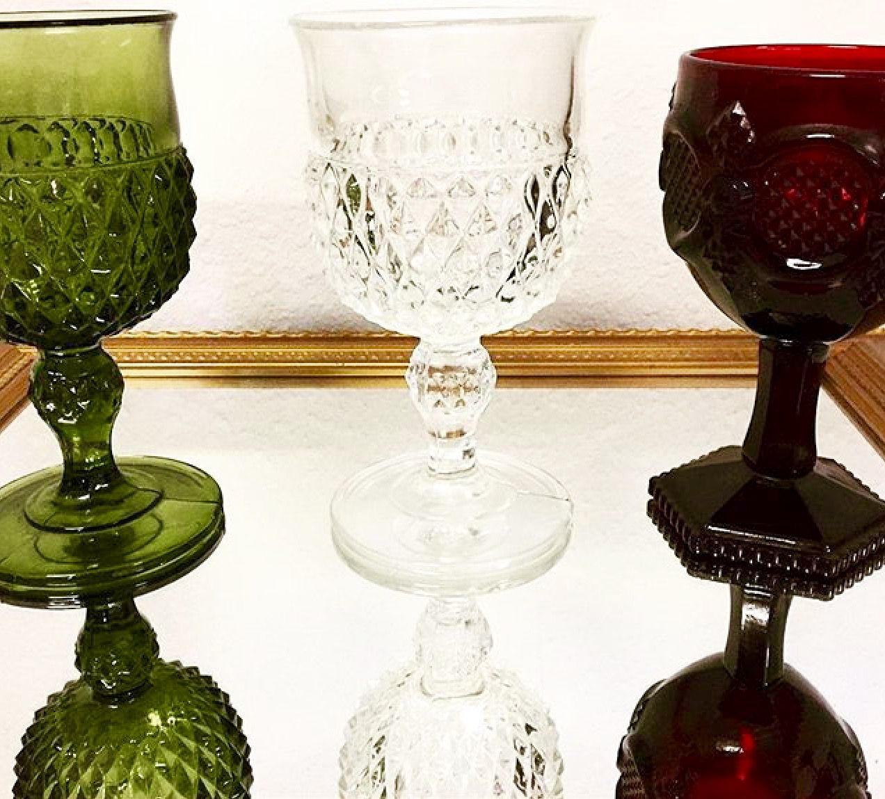 These goblets have a Royal feel to them. These would be great for a ...
