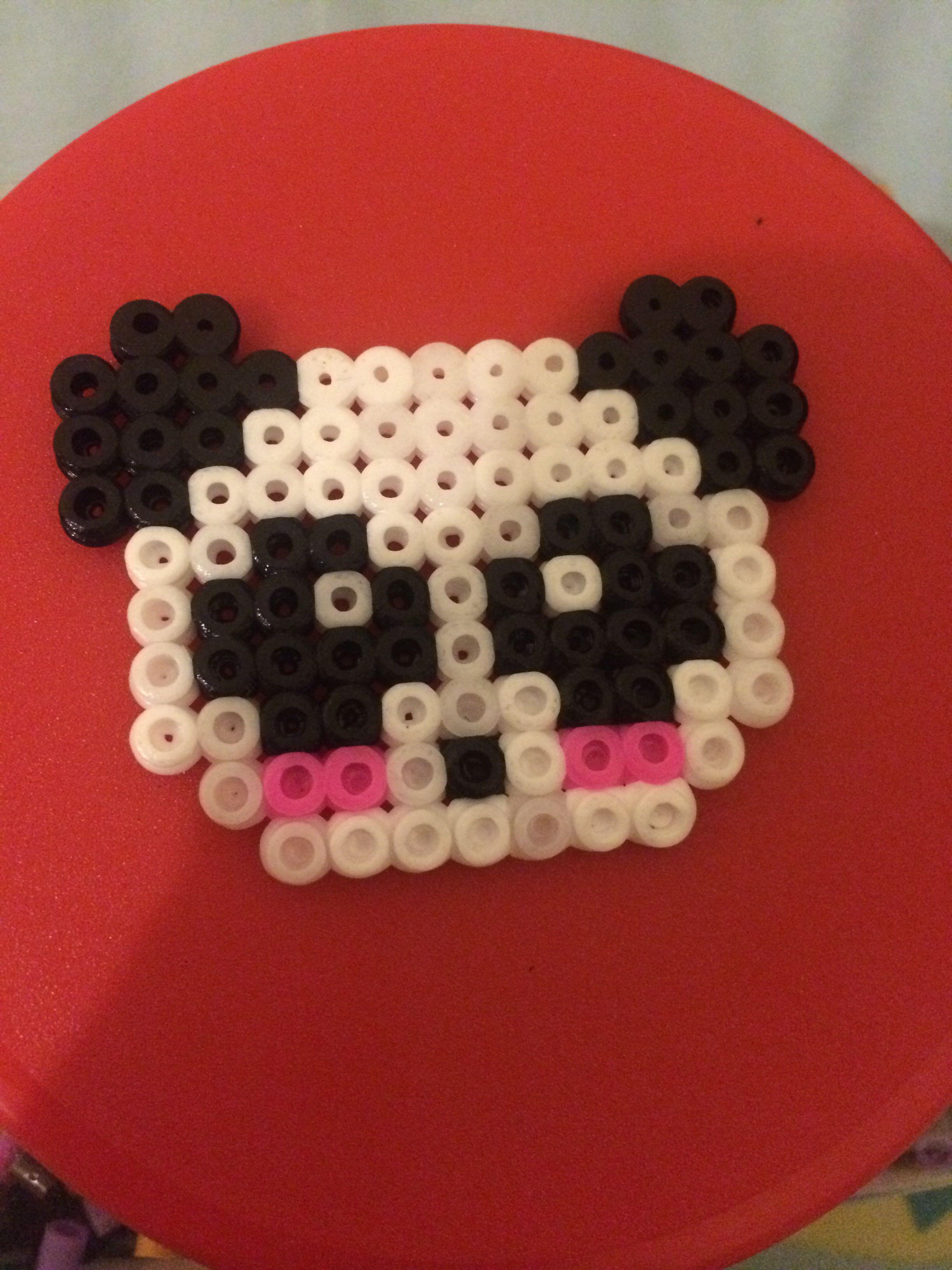 Panda de hama