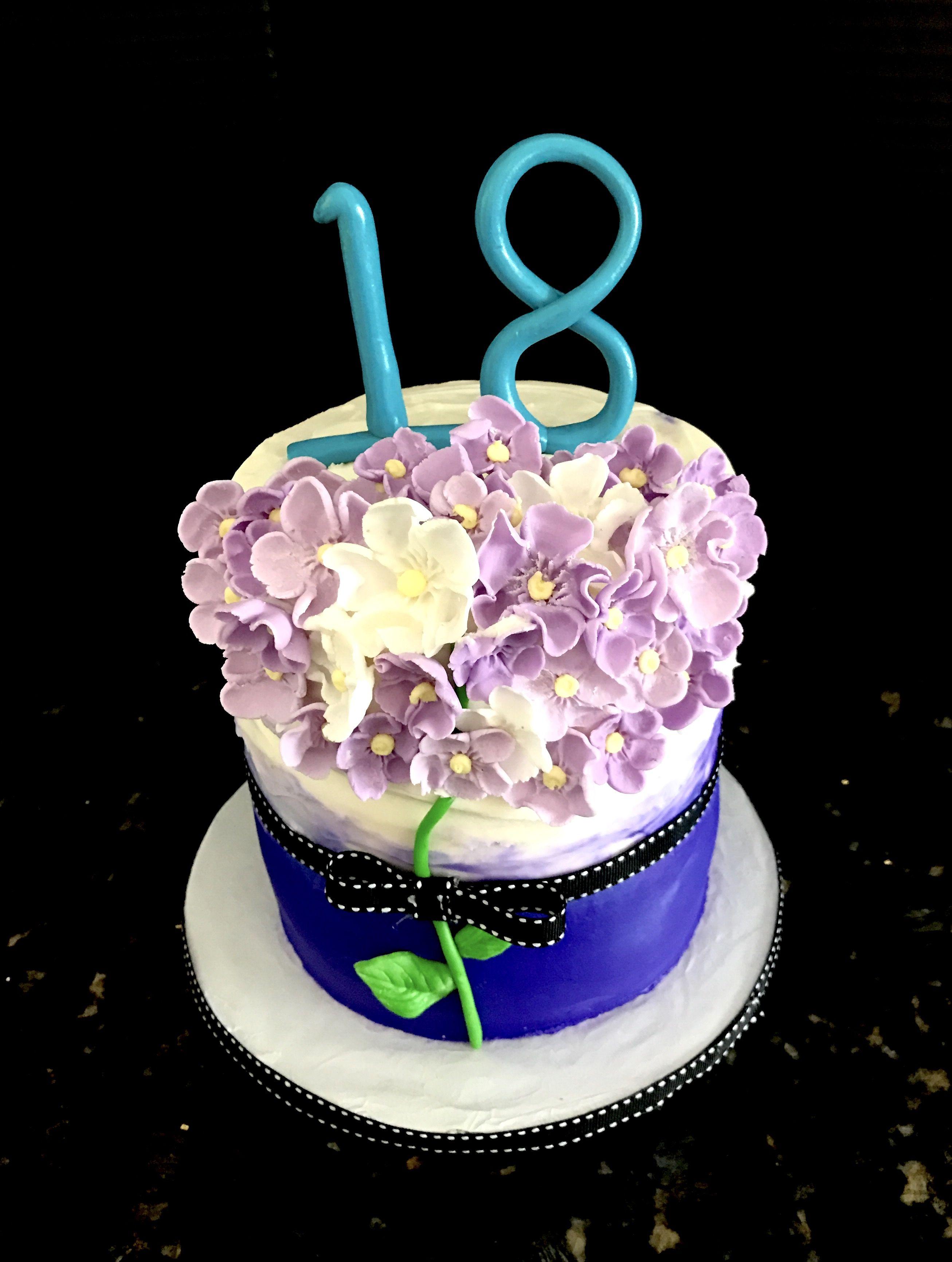 Bouquet of flowers themed happy birthday cake sweet blessings bouquet of flowers themed happy birthday cake izmirmasajfo