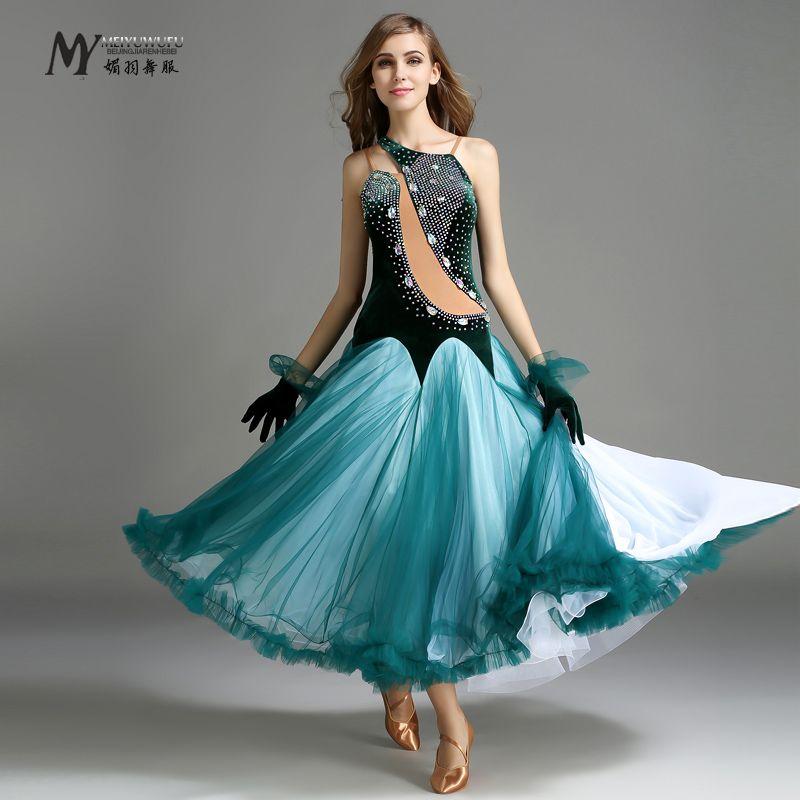 f42e5b7f03 Cheap 2016 Top Fashion Grado Più Alto!! 2016 Ballroom Dance Dress ...