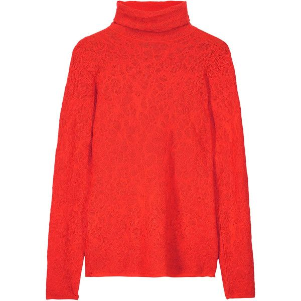 M Missoni - Stretch-knit Jacquard Turtleneck Sweater (880 RON ...