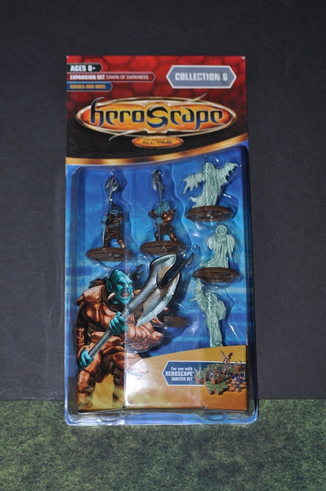 Heroscape 158715 Heroscape Dawn Of Darkness Shades And Orcs Wave 6