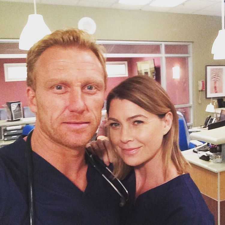 Dr. Owen Hunt and Meredith Grey reporting for surgery! #GreysAnatomy
