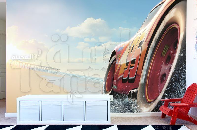 Cars 3 Wallpaper ورق حائط سيارات 3 ثري دي لغرف الاطفال Car Cars Vehicles