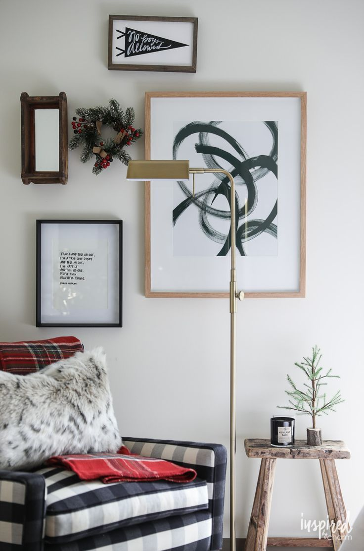 Christmas decorating ideas in my bedroom inspired by charm holiday also rh pinterest