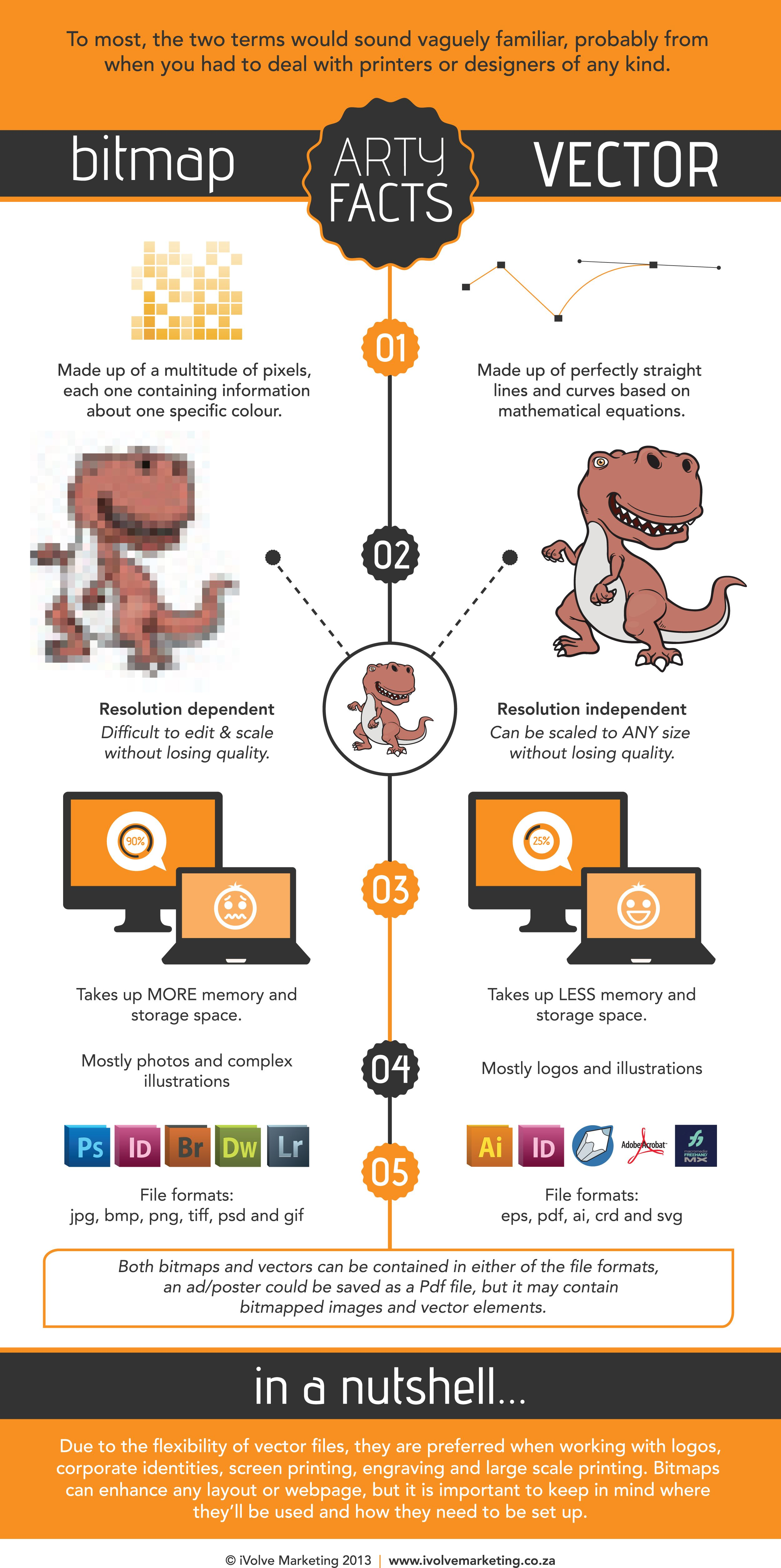 Bitmap Vs Vector Infographic Graphic Design Lessons Learning