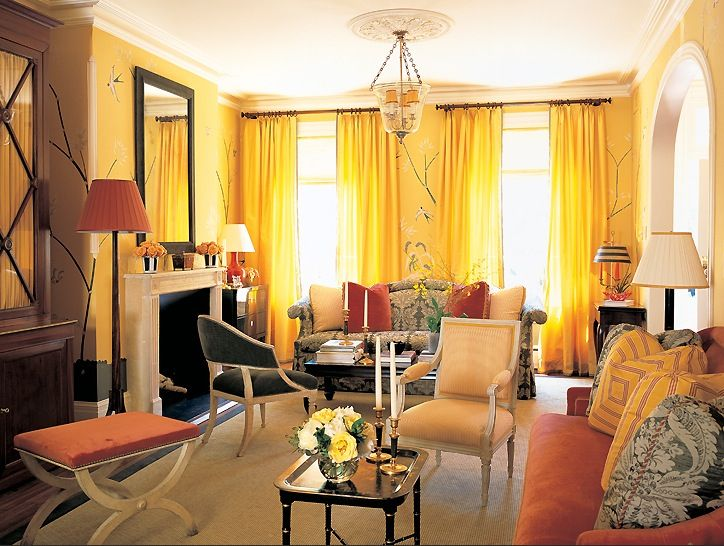 yellow! | Home - Living Rooms | Pinterest | Living rooms and Room