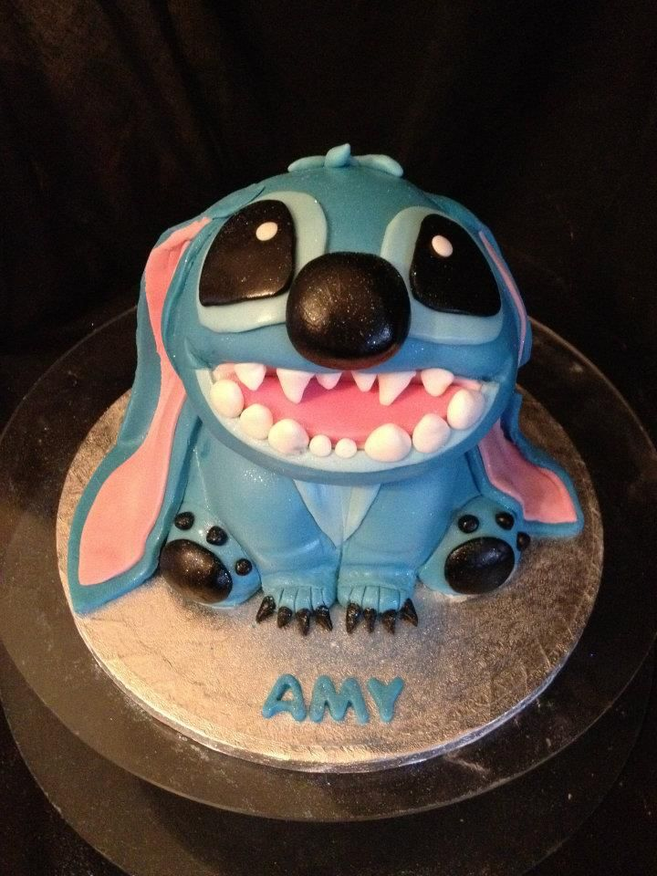 stitch cake So cute Cakes Pinterest Stitch cake