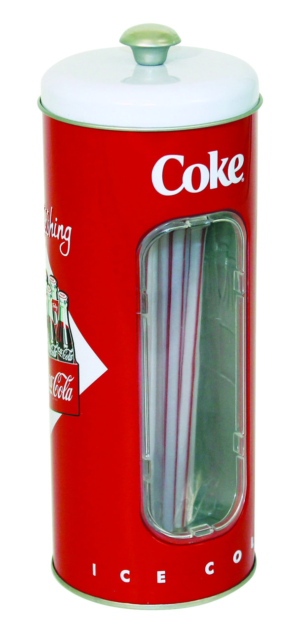 Coca Cola© Straws Holder with Straws - Tittles & Bits