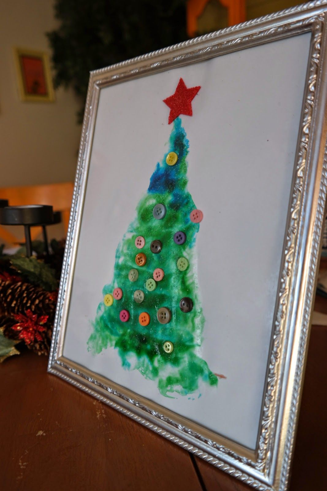 Glimmercat: Love This Christmas Tree Craft for Preschool! Easy peesy ...