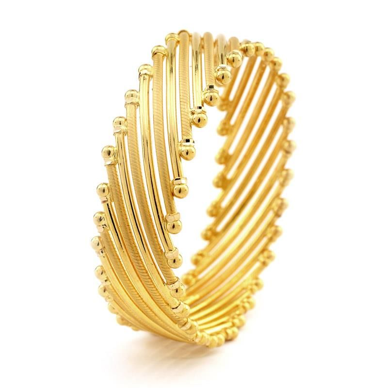 light weight gold kada | gold designs | Pinterest | Gold jewellery ...