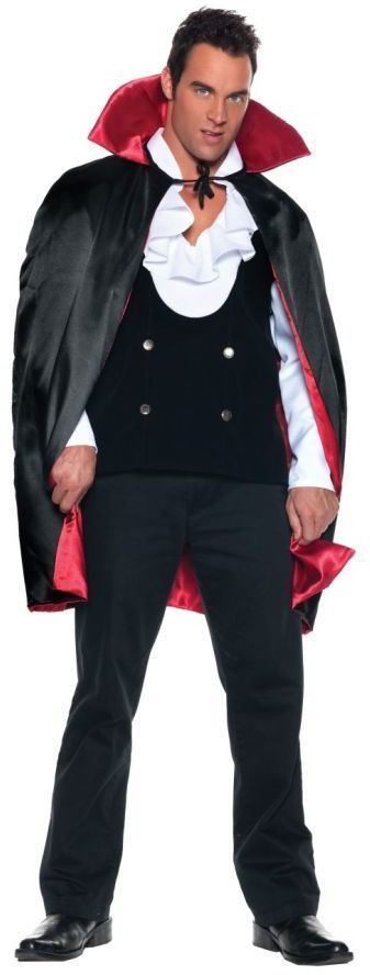 37'' deluxe reversible costume cape