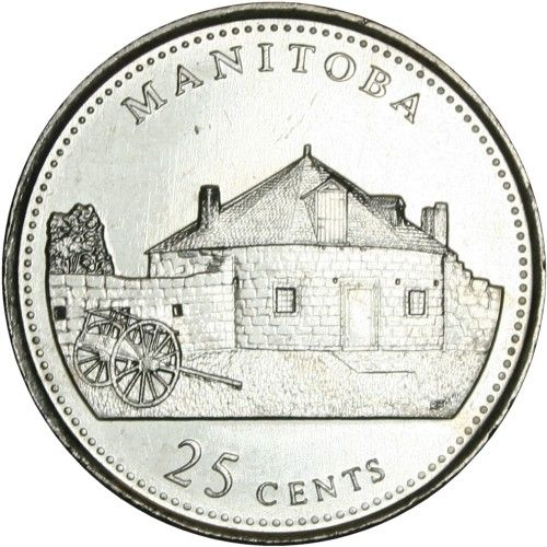 Canadian Coin Collection: Manitoba 1992 - 125th Anniversary of Confederation