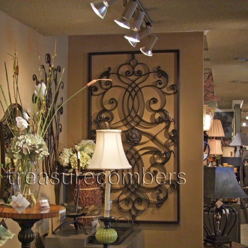 tuscan wall decor | Metal Wall Art | elegant | Pinterest ...