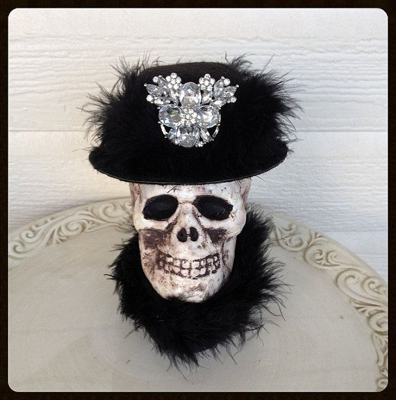 Monique A Glamorous Halloween Decoration Halloween by JeanKnee - skull halloween decorations