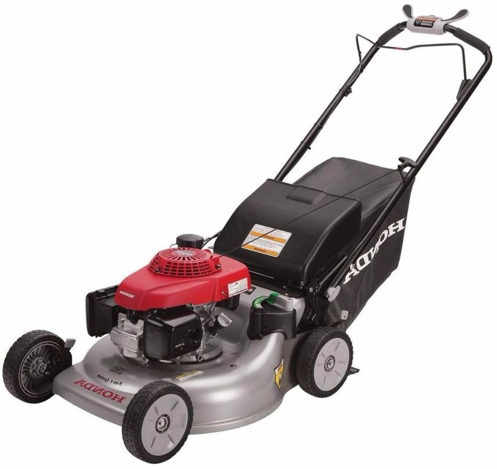 Honda 21 In 3 In 1 Variable Speed Gas Self Propelled Lawn Mower With Auto Choke Honda Lawn Mower Mowers For Sale Best Lawn Mower Lawn Mower