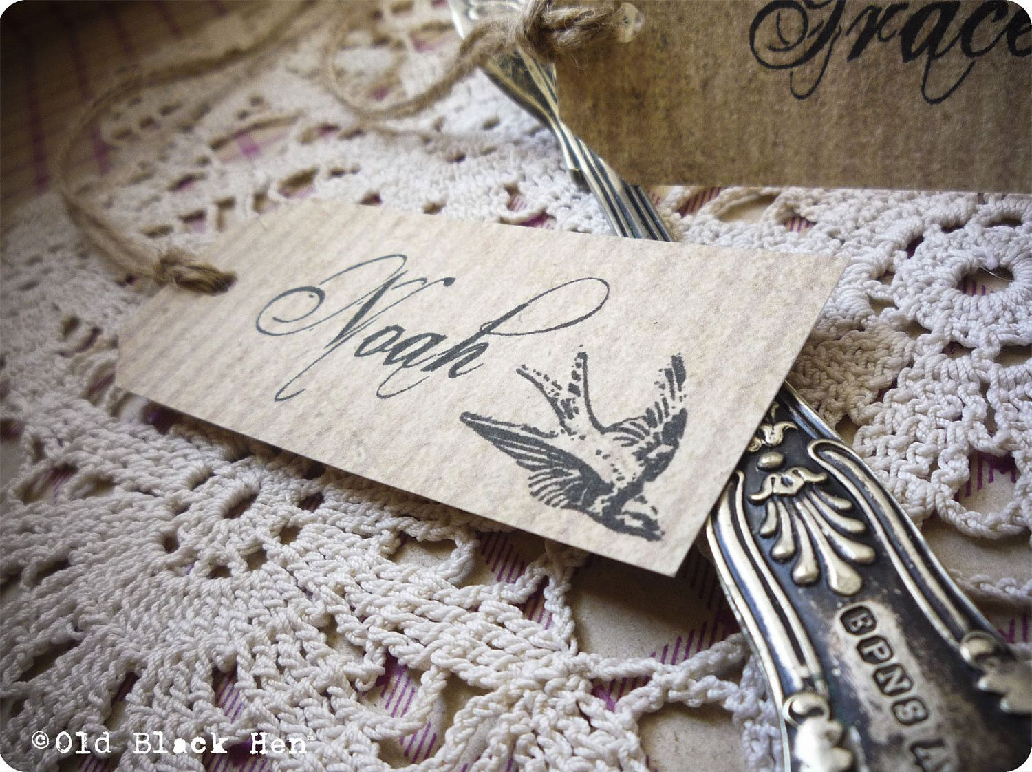 The Vintage Swallow Collection - Bespoke Handmade Wedding