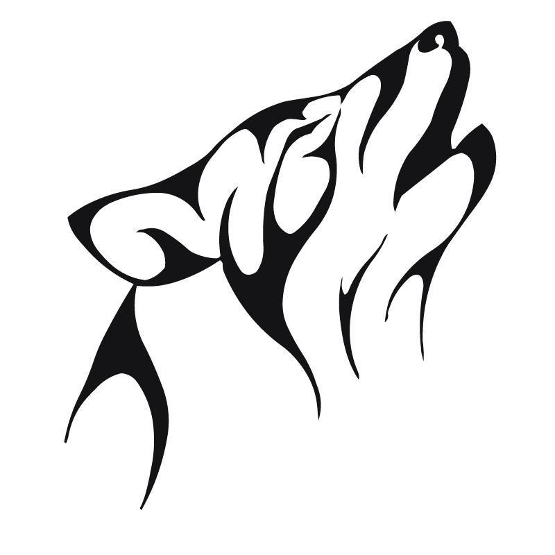 Dog Tattoo Drawings Tattoo Hunter Clipart Best Clipart Best Tribal Animal Tattoos Tribal Wolf Tattoo Tribal Animals