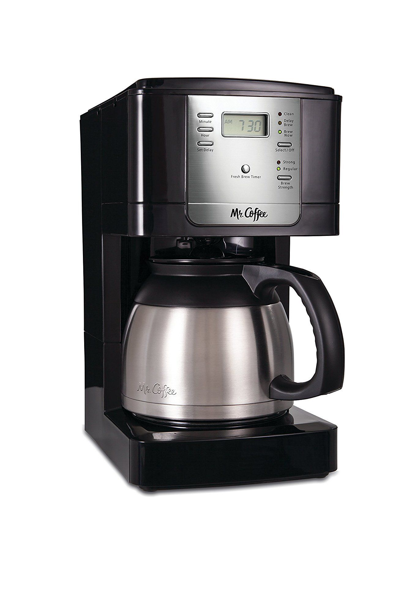 Mr. Coffee JWTX85 8Cup Thermal Coffeemaker Stainless Steel
