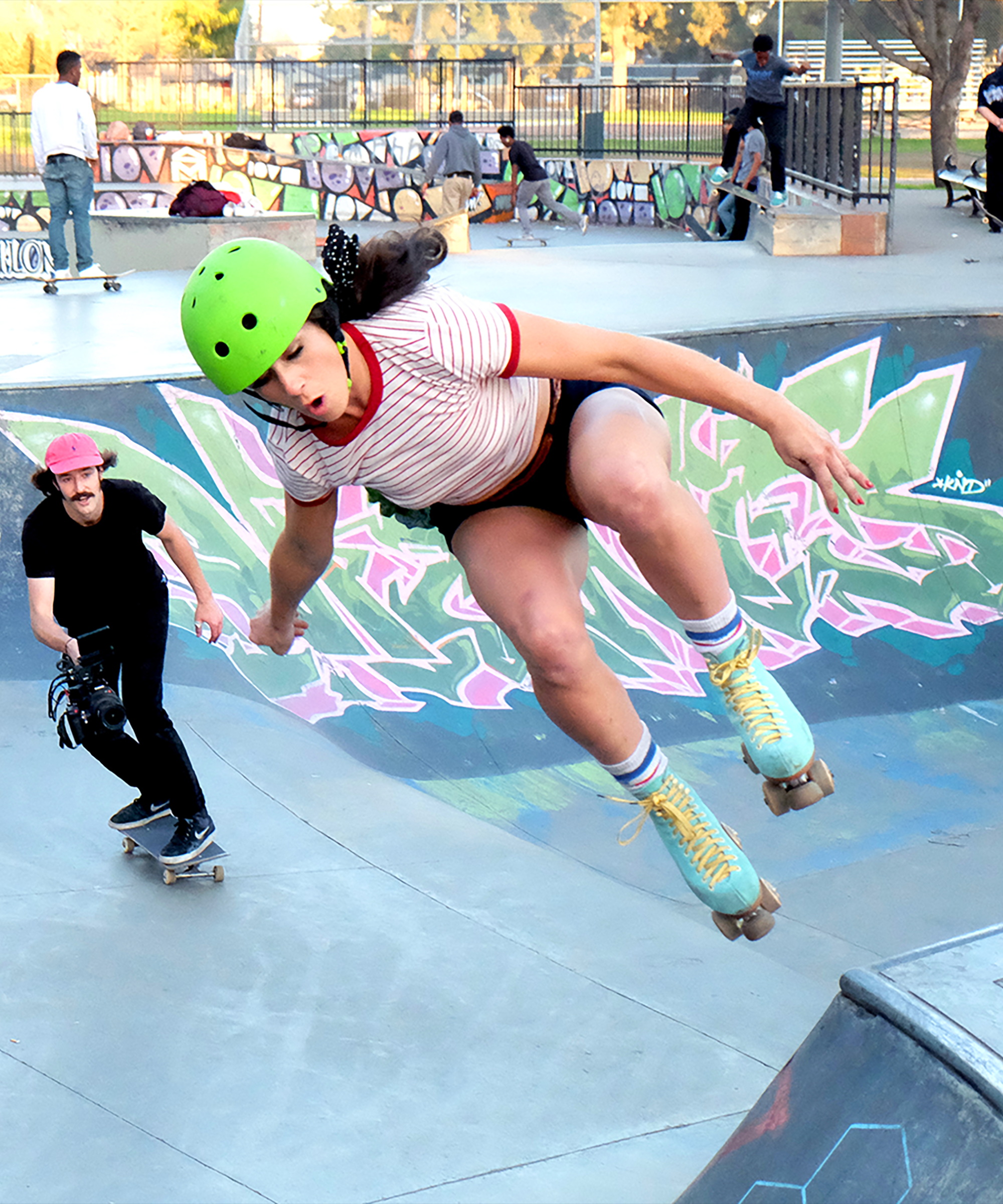 This All-Female Roller-Skating Club Is Seriously Badass ...