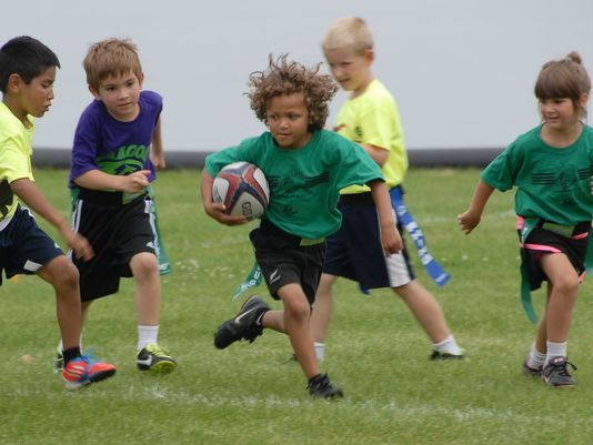 Boomers Hold Successful Youth Flag Rugby Tournament Rugby Soccer Coaching Tournaments