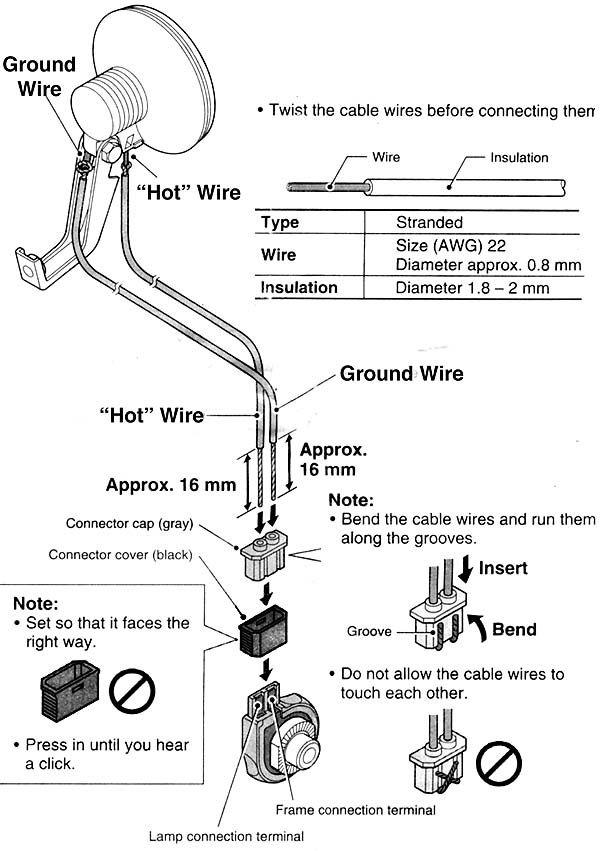 Shimano Nexus Generator Hub Wiring Diagram | bicycles