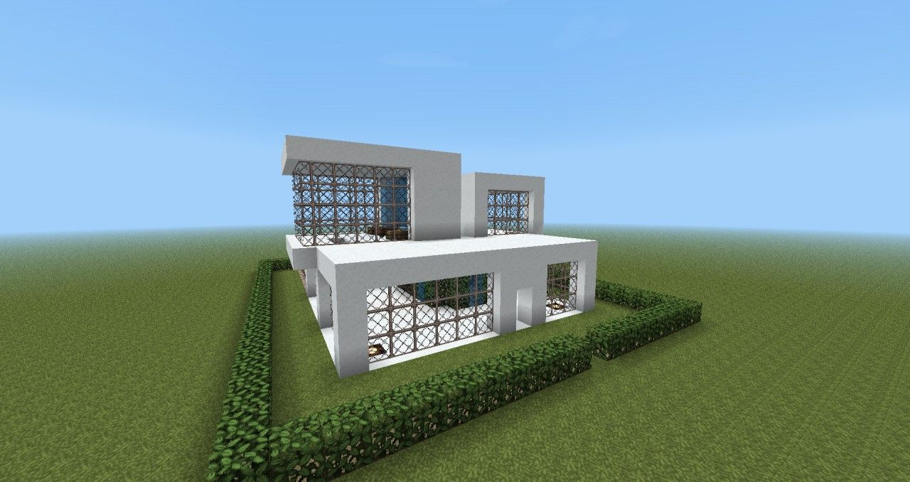 Modern House Made Of Wood Minecraft   Google Søk
