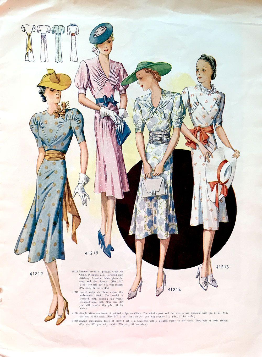 Record Fashions Pattern Magazine - July 1938