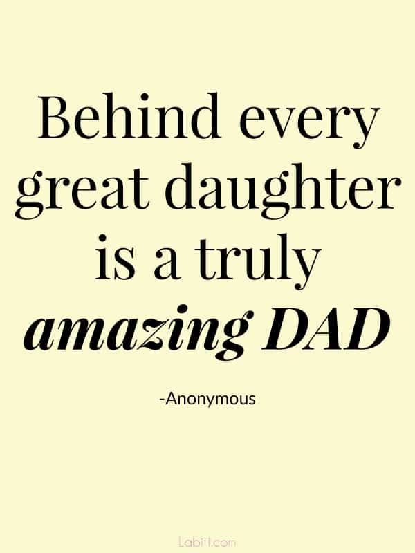 60 famous quotes about father daughter relationship with for Quotes for a father
