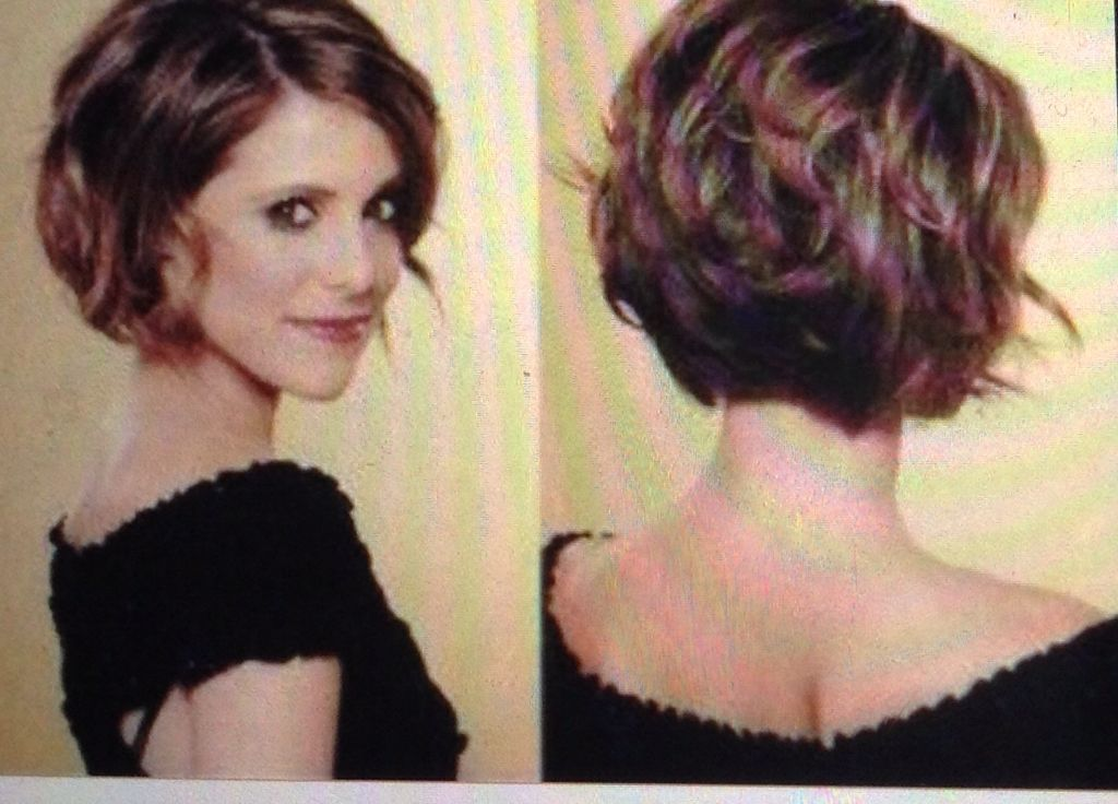 Short Hairstyles For Wavy Hair Gorgeous 16 Best Cortés De Cabello 2014 Images On Pinterest  Short Films