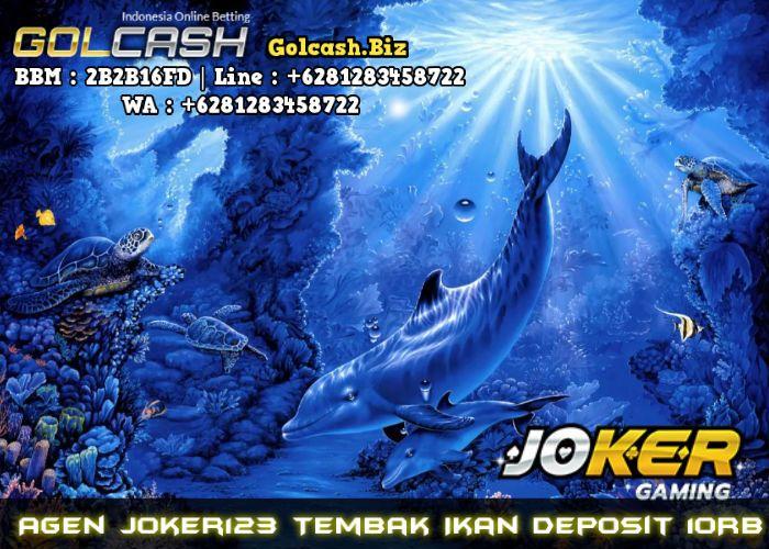 Agen Joker123 Tembak Ikan Deposit 10Rb | Ikan, Game