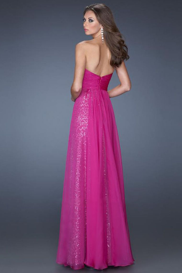 2014 Enchanted Sweetheart A Line Empire Wasit Floor Length Prom ...