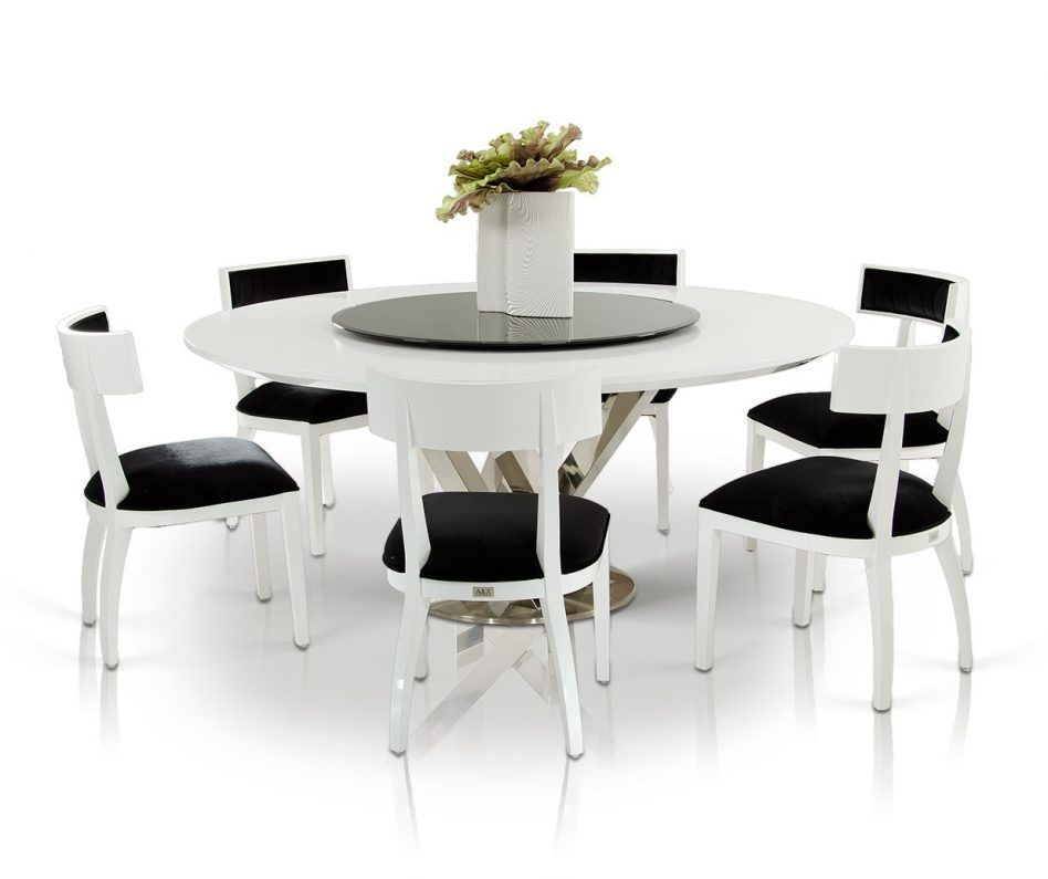 Round Dining Room Table Seats 8: Large Round Dining Table Seats 8 Lazy Susan. Seats 8 Rpg