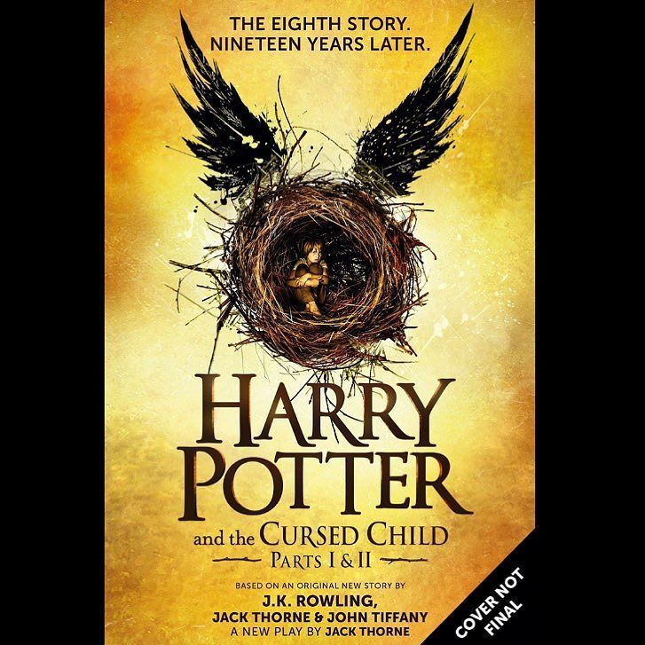 Comic Book Talk Show Podcast On Instagram A Published Edition Of The New Harry Potter Script Is Comin New Harry Potter Book Cursed Child Harry Potter Stories