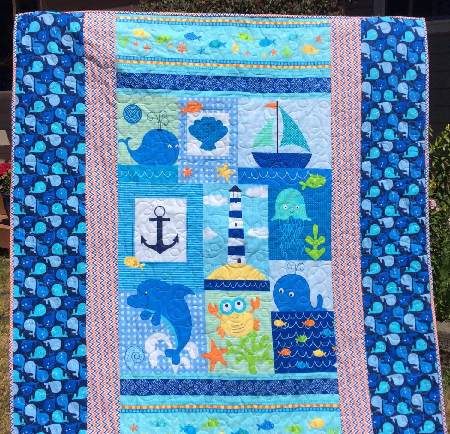 View source image Handmade baby quilts, Modern baby