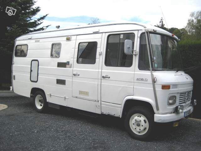 mercedes benz 406 d camper campers pinterest. Black Bedroom Furniture Sets. Home Design Ideas