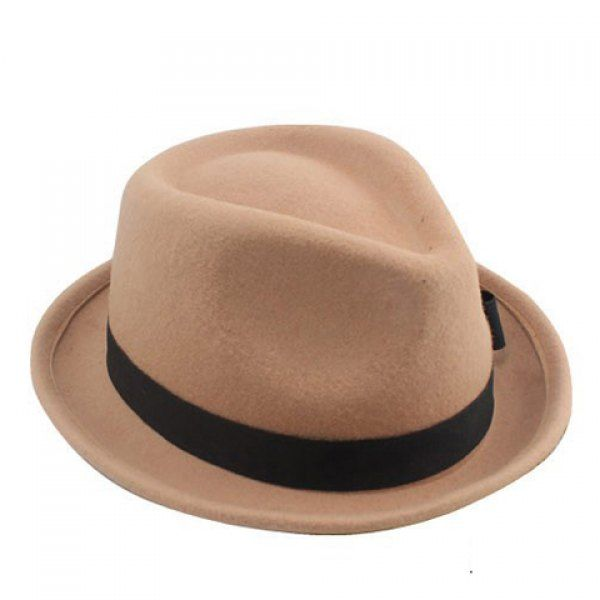 bf8b434a420 Chic Women s Hemming Fedora Hat