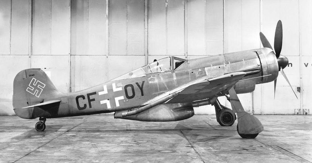 WW2 German Luftwaffe Focke-Wolf 190 Plane Picture