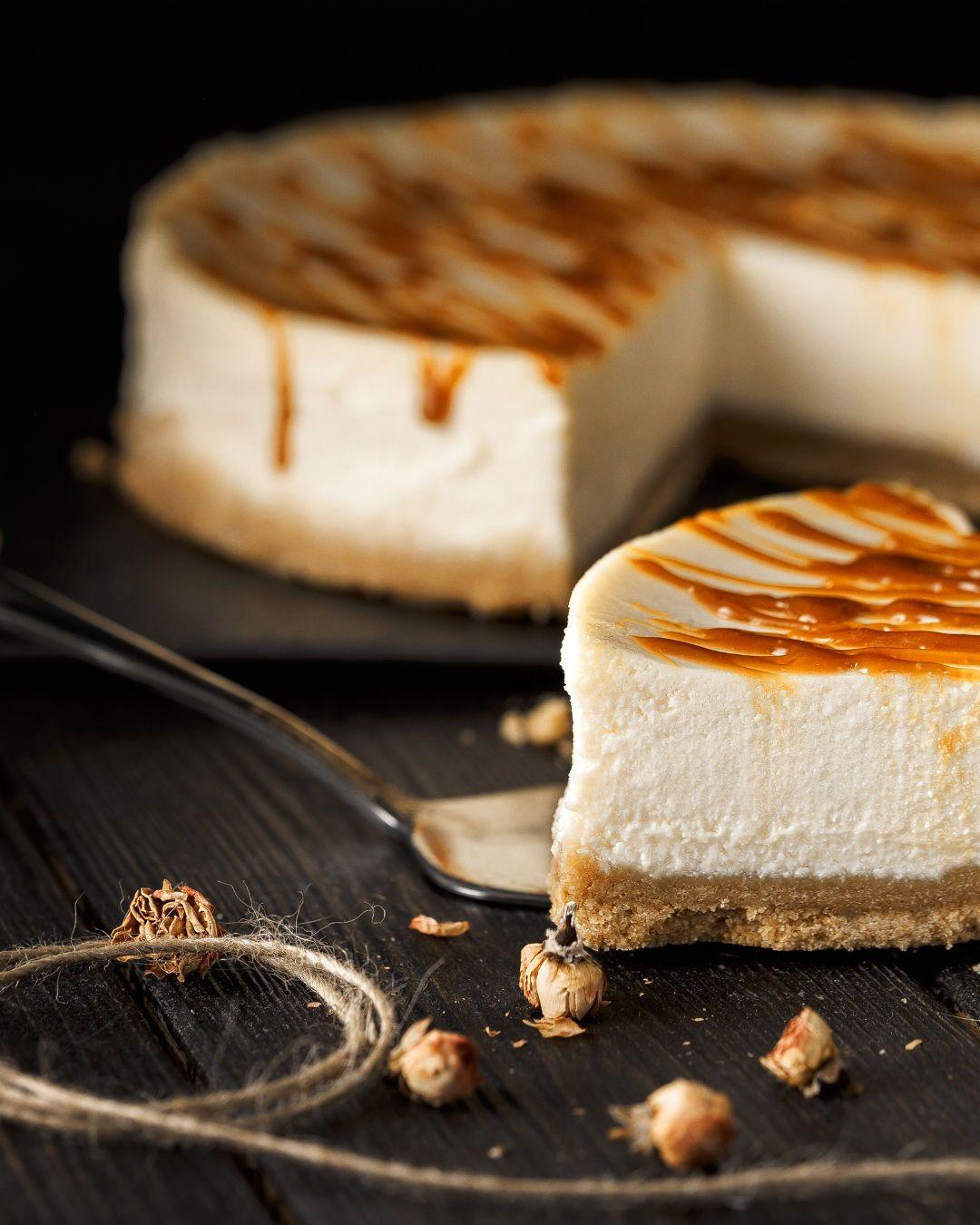 Homemade caramel cheesecake recipe here httpbitly