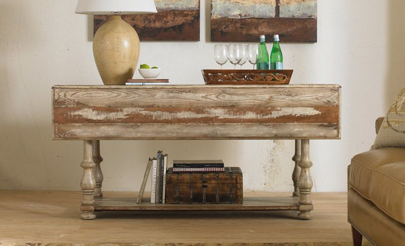 Taupe Finish Drop Leaf Table   Grand Home Furnishings | 0217037