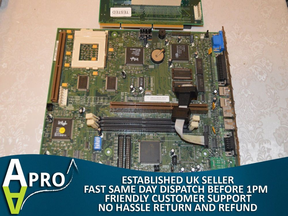 Working ibm personal computer 300 gl model 6282 motherboard