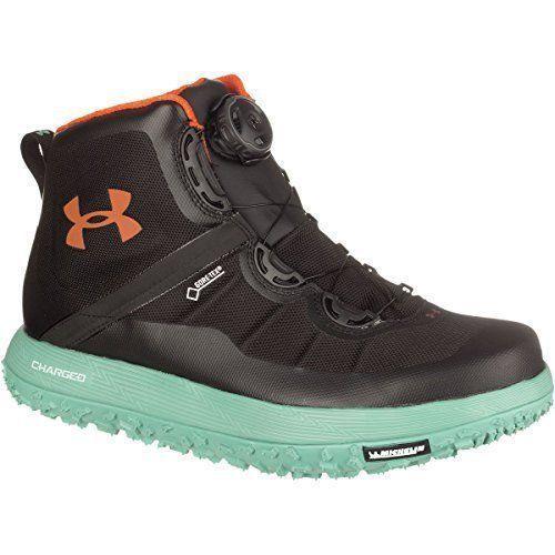 Under Armour Men 1262064-029 Fat Tire GTX Black/Green Trail Running Shoe SZ 10