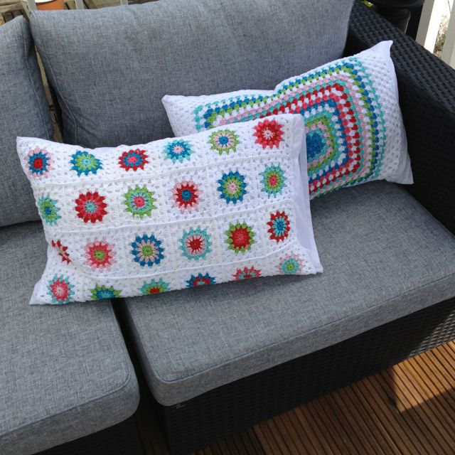 Loom Knit Pillow Case