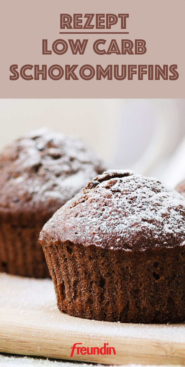 Photo of Recipe: Fast Low Carb Chocolate Muffins | freundin.de