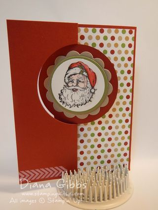 www.stampingwithdi.com   - Fun card for Stamp Club using Best of Christmas and A Banner Christmas