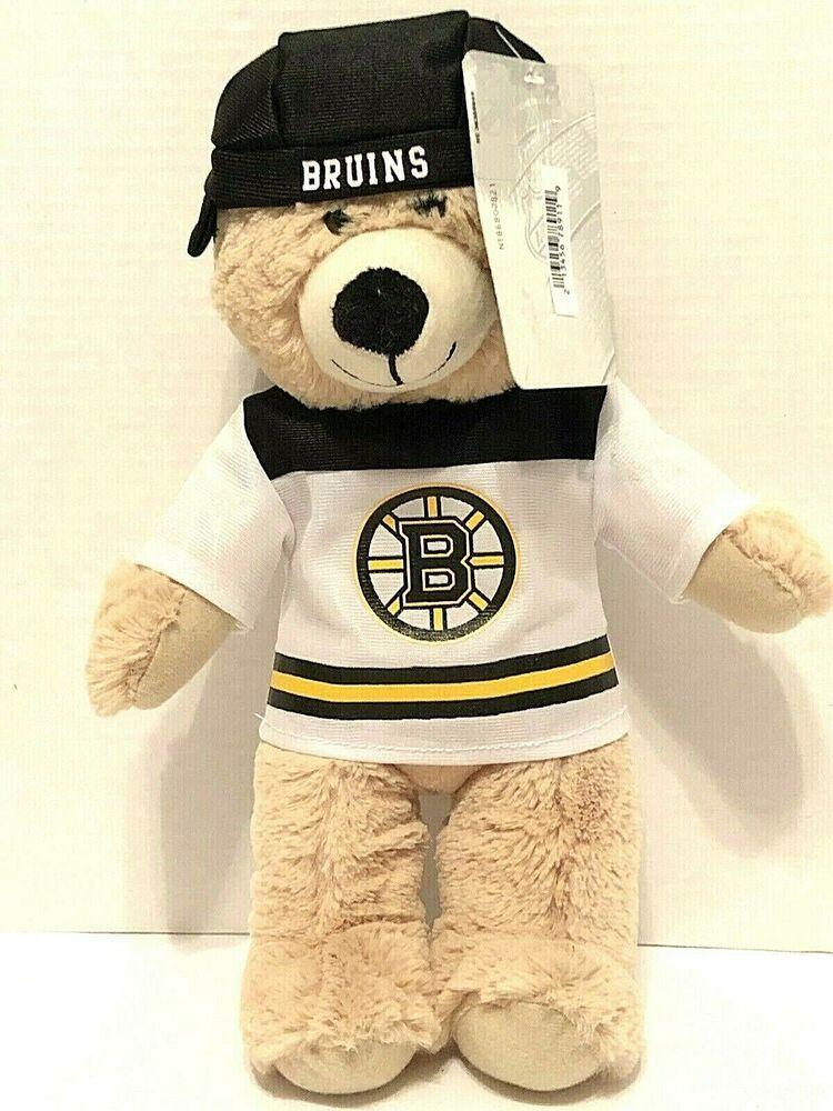 166825de785 NHL Boston Bruins Plush Bear 14