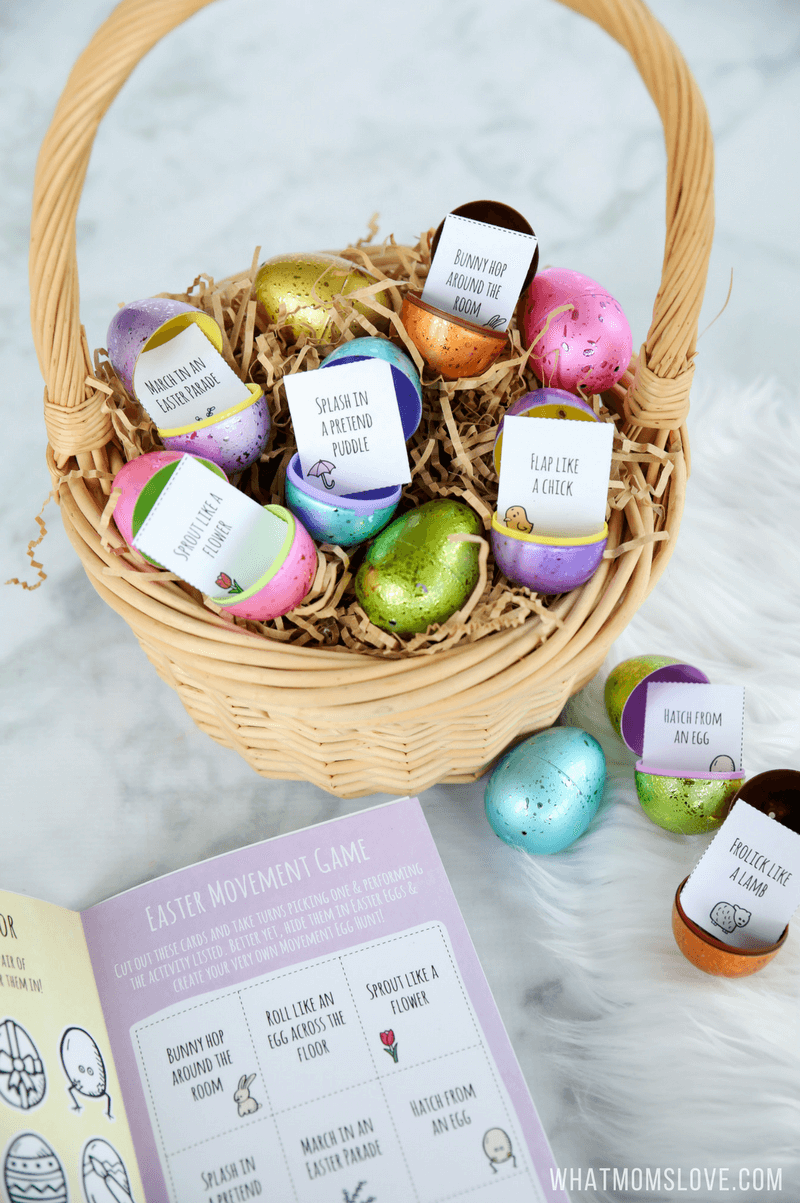 Free printable easter activity book outdoor scavenger hunts