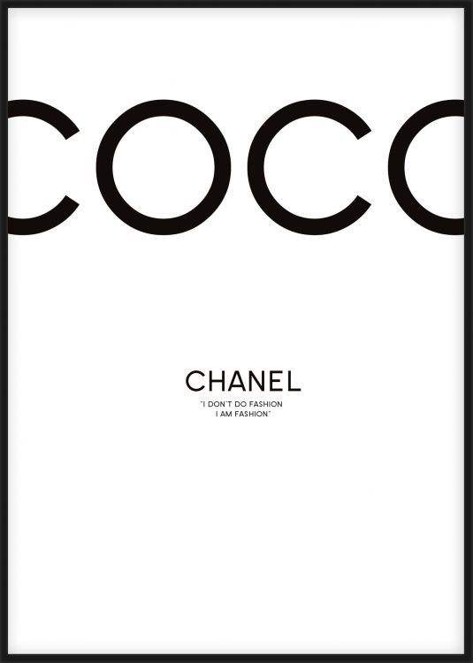 coco chanel background