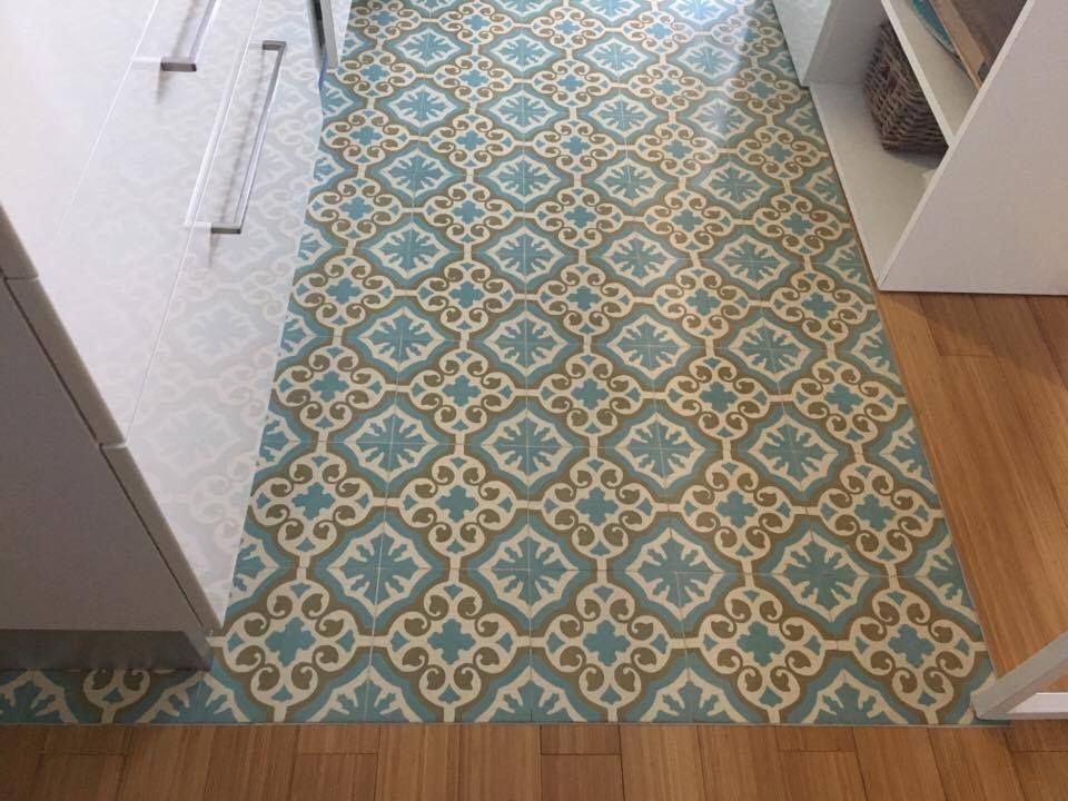 Cementine cucina crillapin tile tiles home decor