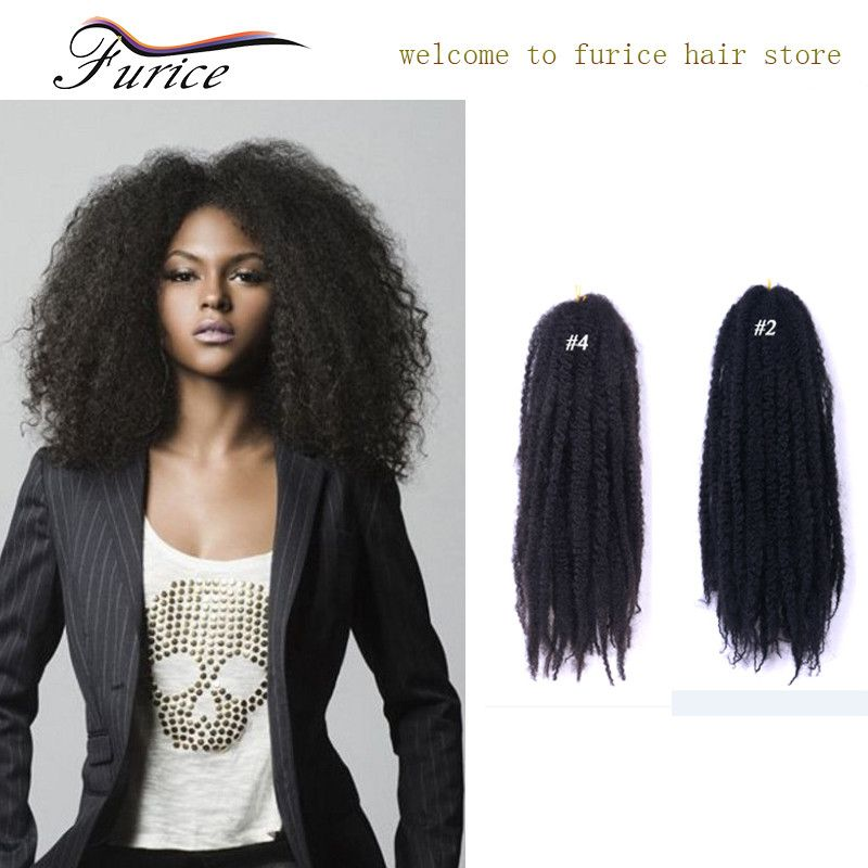 18 Inch 65gpack Afro Curly Box Freetress Synthetic Braiding Hair